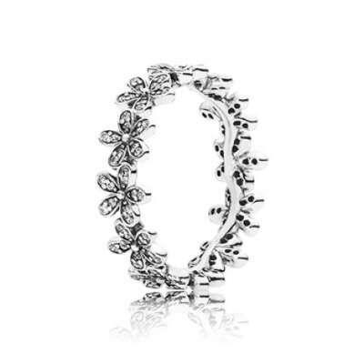 PANDORA | Кольцо «Сверкающие маргаритки»