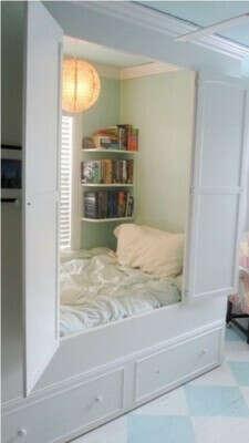 Спальню в шкафу