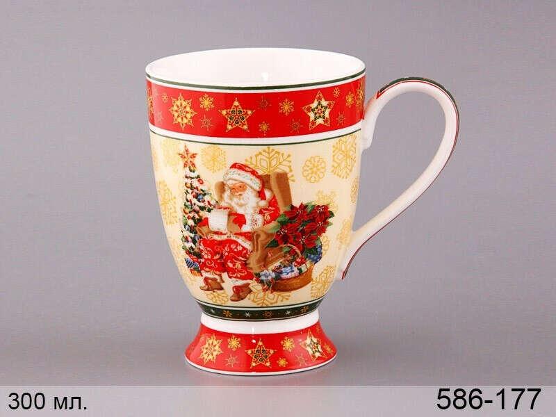 Чашка новогодняя