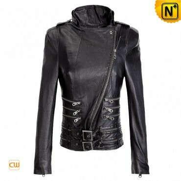 CWMALLS® Cheyenne Leather Motorcycle Jacket CW670039