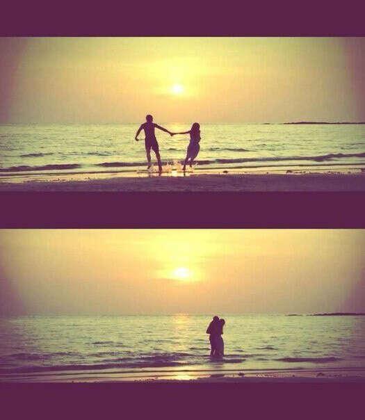 С любимым побывать на море.