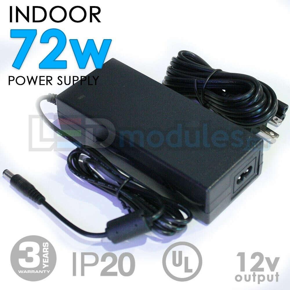 12V 72W Indoor Power Supply