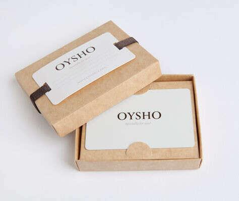 Подарочный сертификат OYSHO