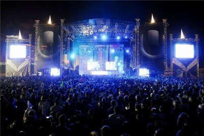 Посетить музыкальный фестиваль