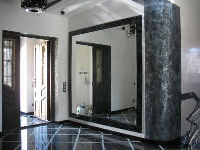 Огромное зеркало
