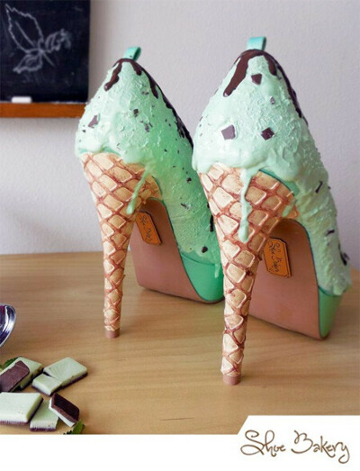 Туфли-мороженое