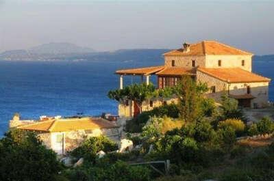 Домик в Греции