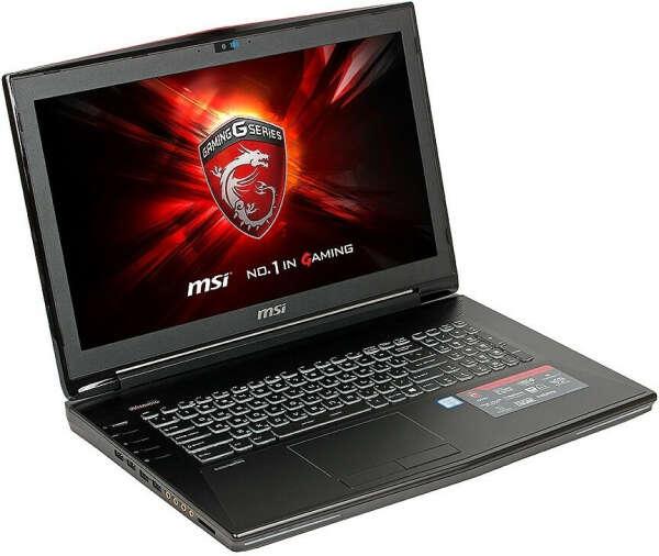 MSI GT72 6QE-1250 Dominator Pro G (черный)