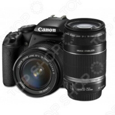 Фотокамера цифровая Canon EOS 600D Kit EF-S 18-55mm IS II / 55-250mm IS
