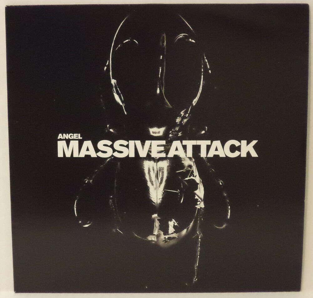 "Massive Attack – Angel DJ 12"" vinyl UK"