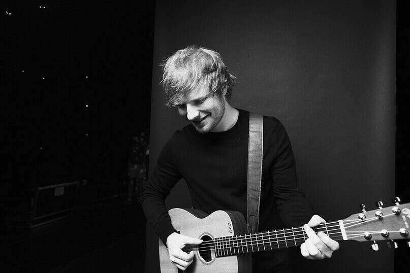 На концерт Ed Sheeran