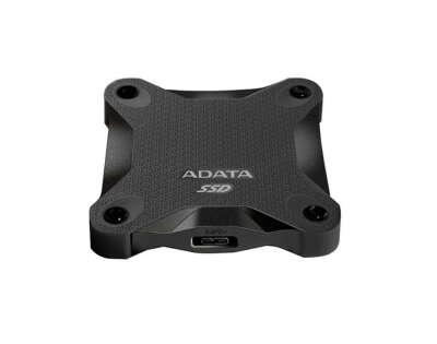 """Внешний SSD диск ADATA SD600 0.6"""" 512Gb ASD600-512GU31-CBK Black"""