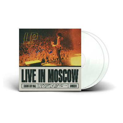 LP - Live in Moscow SIGNED White 2LP Record — YOUR MAJESTY