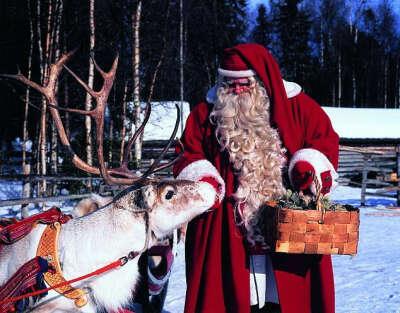 встретить Новый Год в Лапландии (Финляндия)