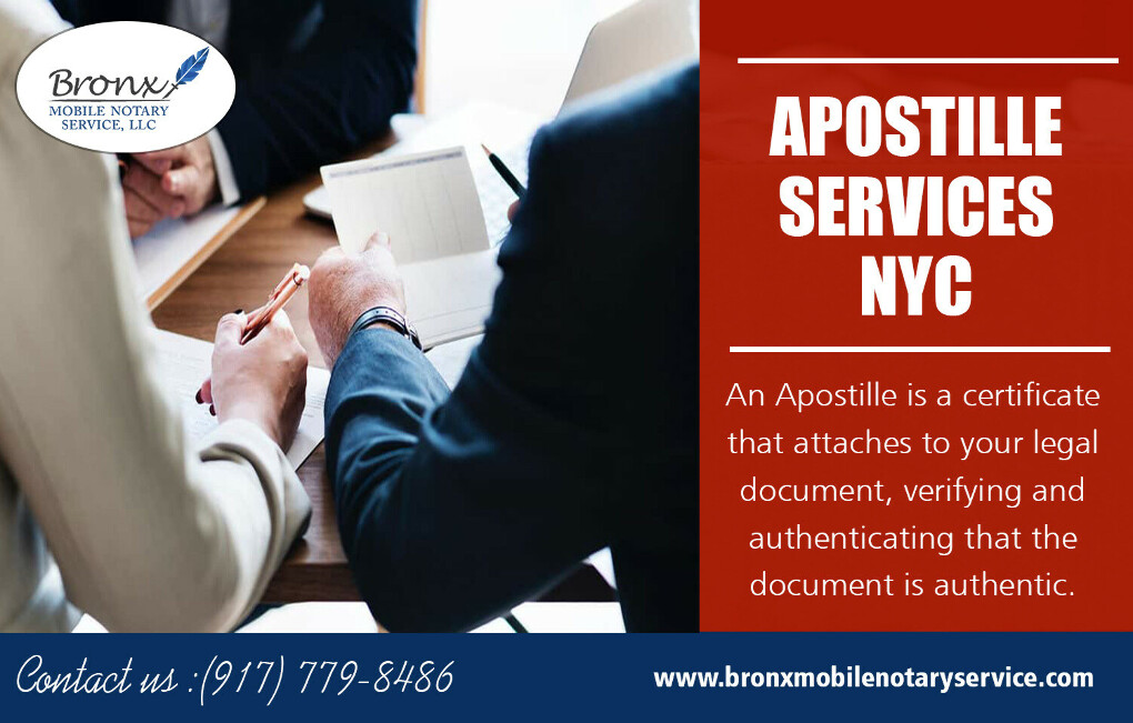 Apostille Services NYC