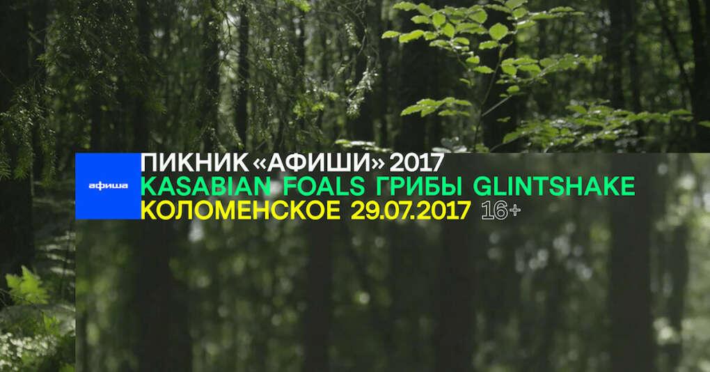 Билет на Пикник «Афиши» 2017