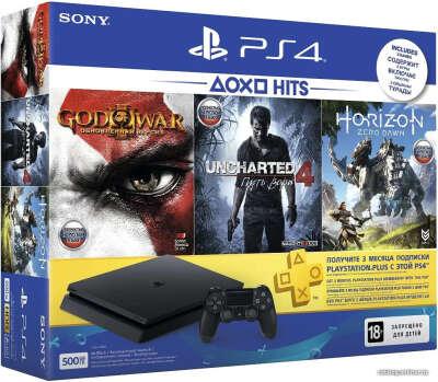 Sony PlayStation 4 Slim с играми