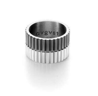 Кольцо-стеклярус двойное с комбинированным покрытием Avgvst