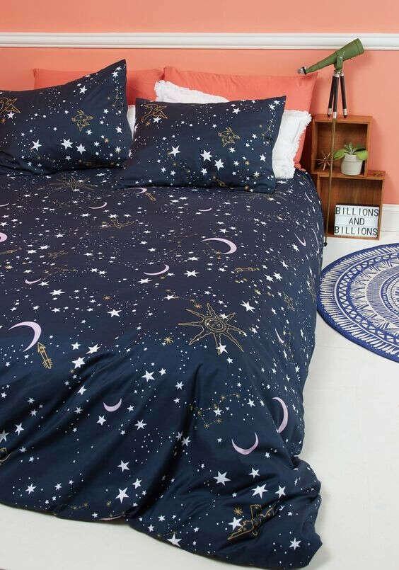 Постель в звезды/галактики