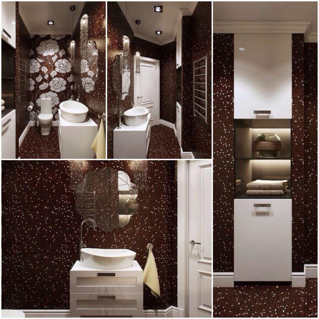 Шикарную ванную комнату