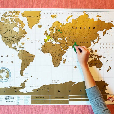 True map - интерактивная карта мира