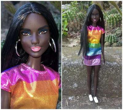 Barbie Fashionistas Rainbow Bright 2018 №90