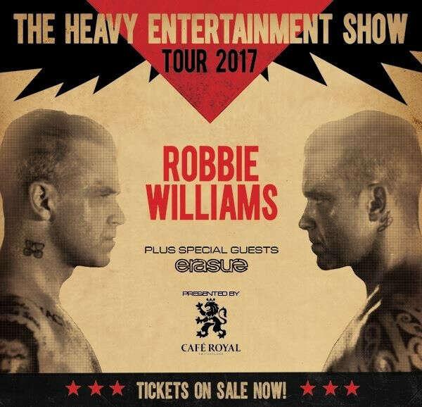 Концерт Robbie Williams