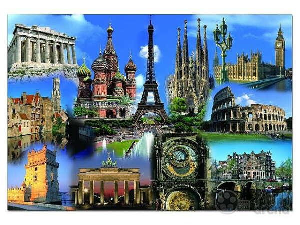 Поехать в тур по Европе