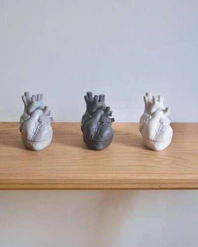 Шкатулка-сердце Concrete heart