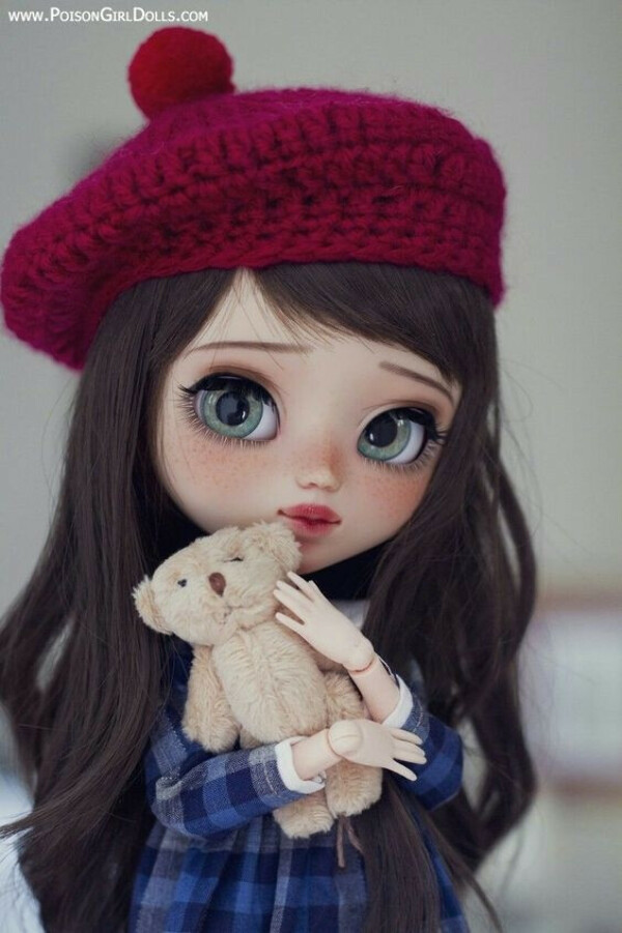 кукла Blythe ooak