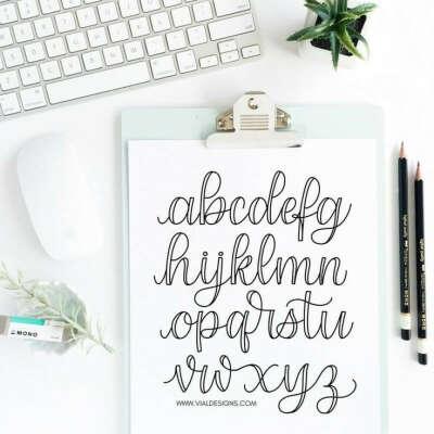 Научиться леттерингу и каллиграфии