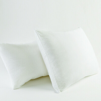 Белые шелковые наволочки 50х60