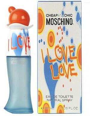 "Moschino ""I Love Love"". Туалетная вода, 100 мл"