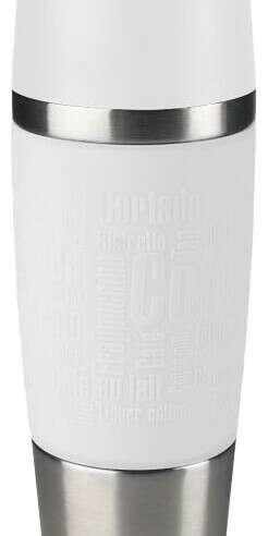 Купить Термокружка EMSA Travel Mug (0,36 л) белый по низкой цене с доставкой из маркетплейса Беру