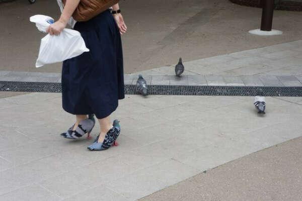 Туфли-голуби для бро