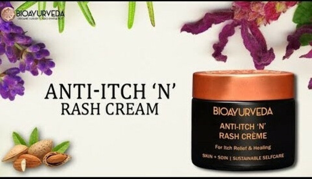 Get Ayurvedic Anti Rash Cream For Skin Itch and Rash Problem