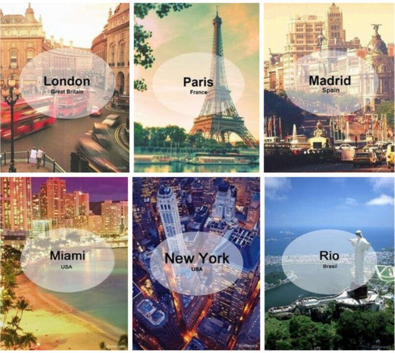 Много путешествовать*)