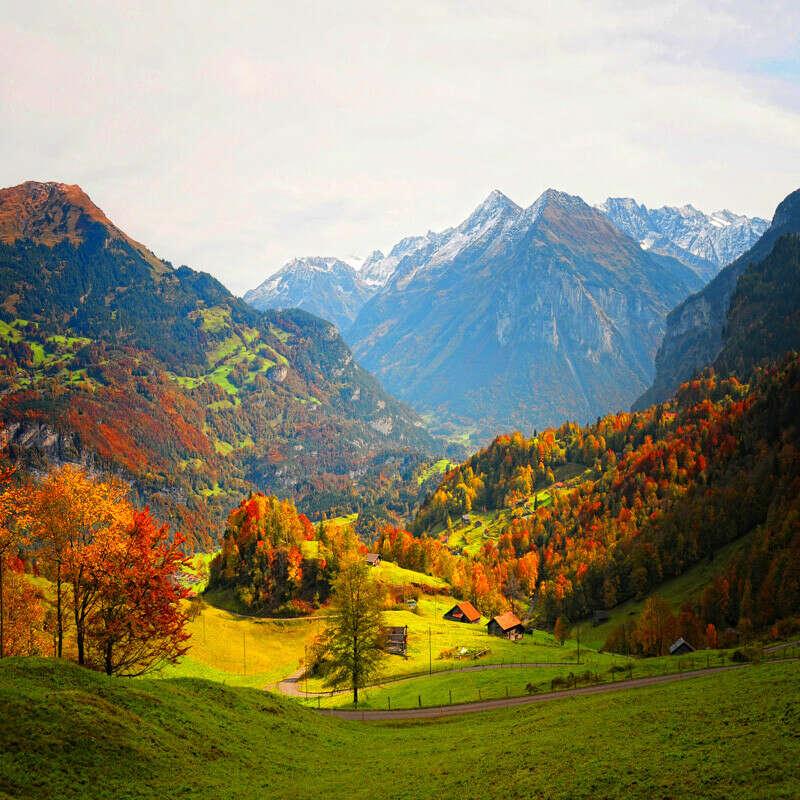 Побывать в Швейцарии осенью