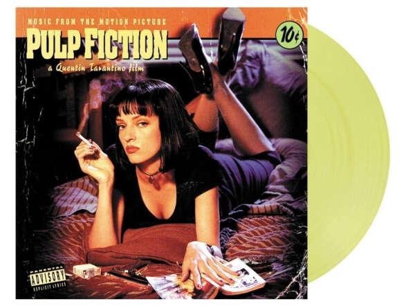 LP + LP-мини OST Pulp Fiction.Coloured Vinyl, LP
