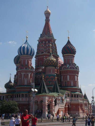 Хочу побывать и увидеть всю Москву
