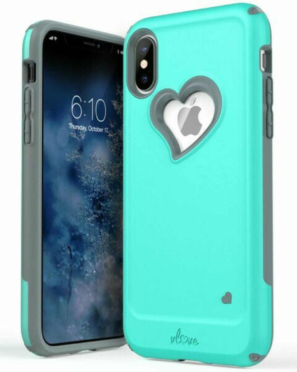 iPhone XS / X Heart Case vLove