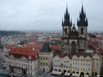 Гулять по Праге, Чехия