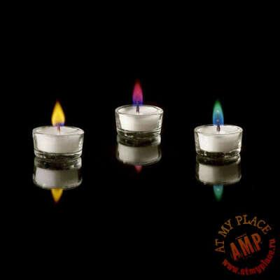 """Набор свечей """"Разноцветное пламя"""""""