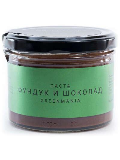Фундук и шоколад Паста, GreenMania