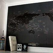 Карта Мира Future Dream - Black