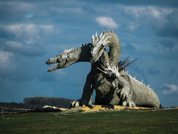 Потрогать дракона на Кудыкиной горе