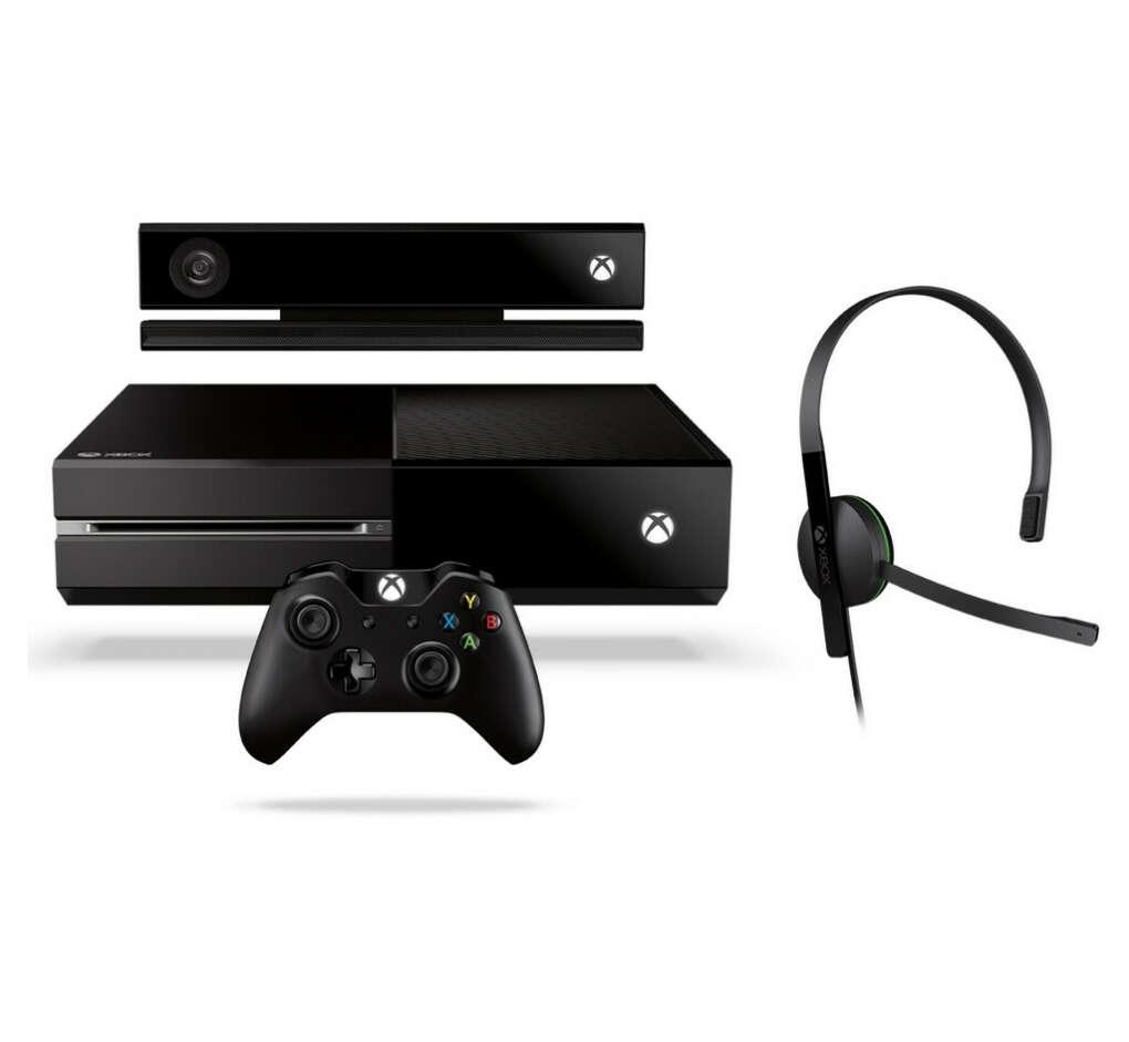 Игровая приставка Microsoft Xbox One 500Gb + Kinect + Игра Dance Central Spotlight