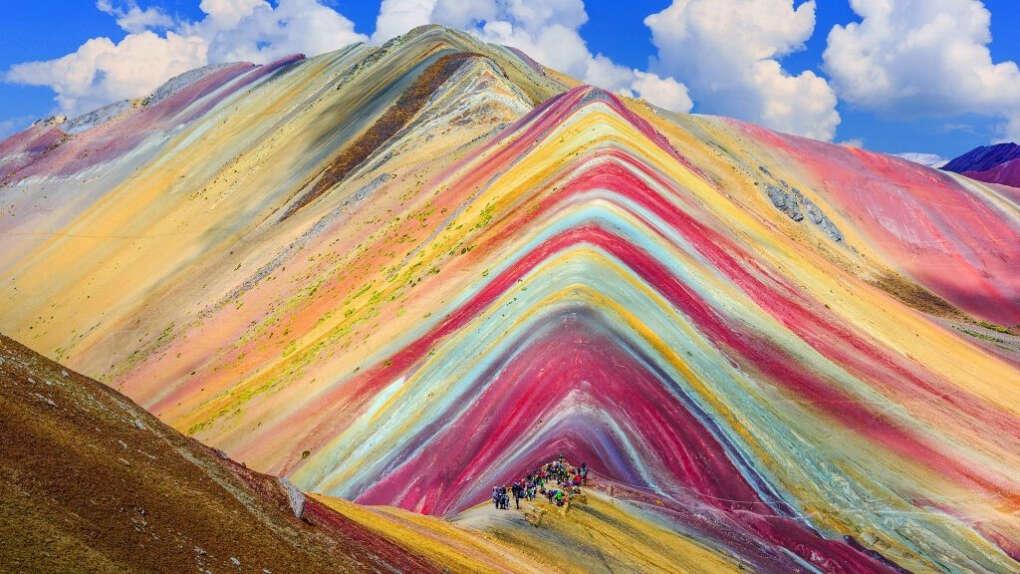 Перу. Куско. Радужные горы