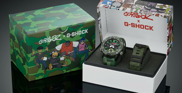 Casio G-SHOCK GA-2000GZ-3AER с хронографом
