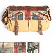 Сумка Messenger Bag Large British Flag